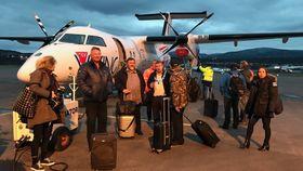 I TROMSØ: FlyVikings første Dash 8 har ankommet Norge. Ytterligere fire maskiner er ventet å følge etter i løpet av det neste halvåret.