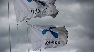 Halvert driftsresultat for Telenor
