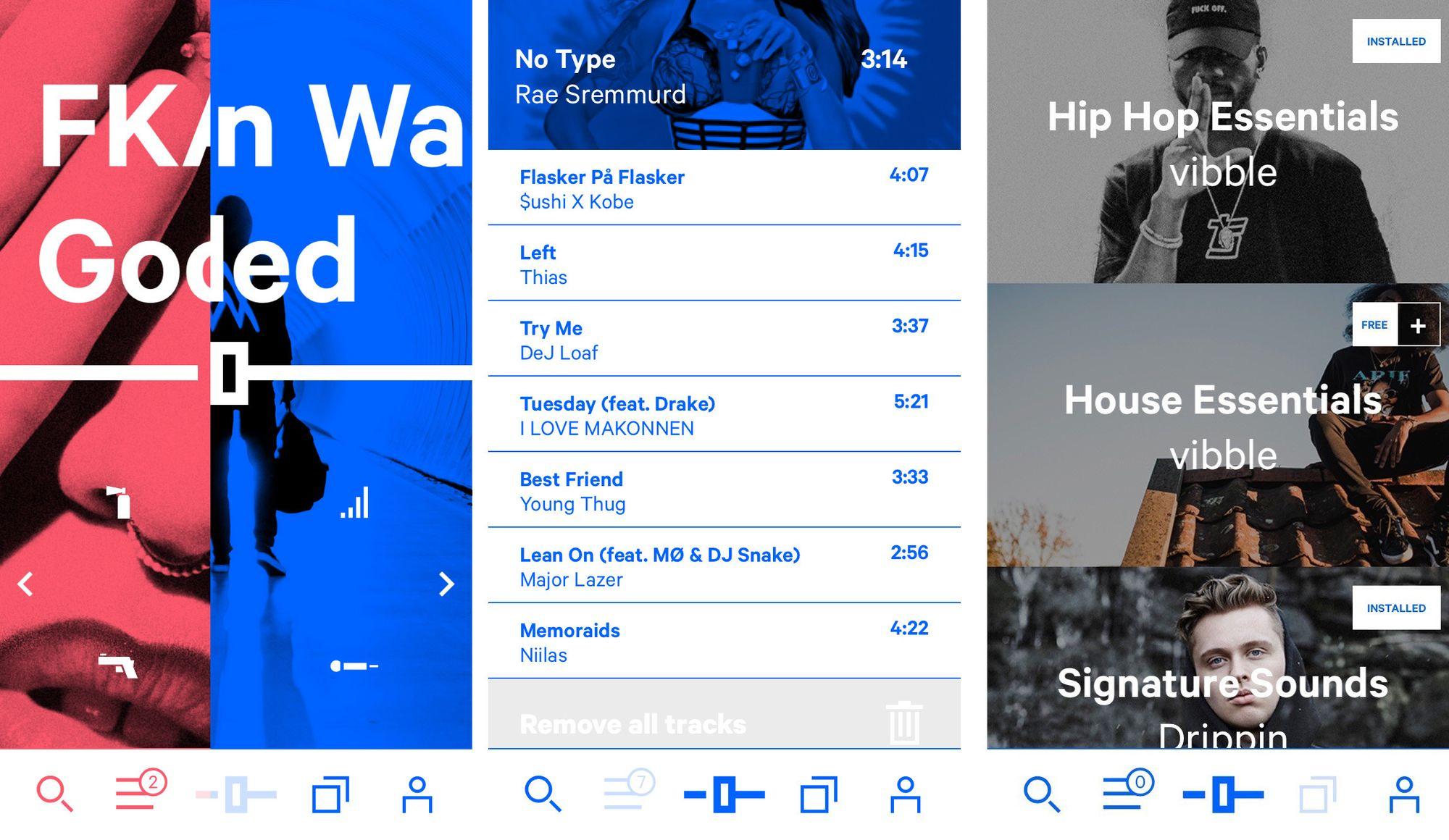 Vibble-appen skal gjøre det enkelt for alle å leke med musikkavspillingene.