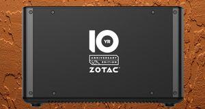 Zotac fyller ti år – feirer med ny maskinvare