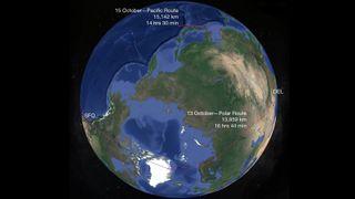 Verdens lengste flyrute: Sparte to timer på å fly 1200 km lengre