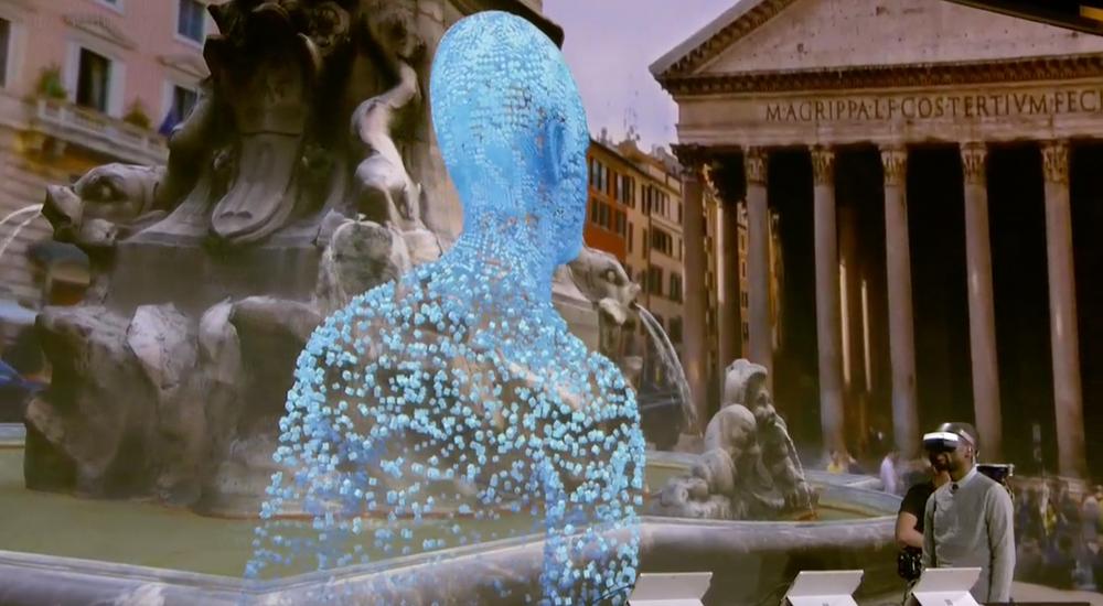 Her er en VR-variant av Pantheon i Roma.