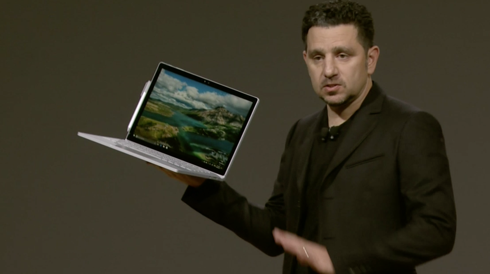 Nye Surface Book med Intel Core i7.