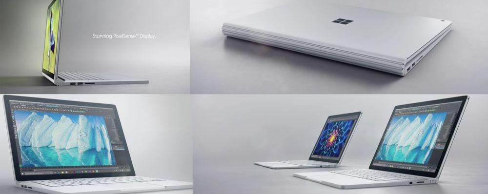 Slik ser nye Surface Book ut.
