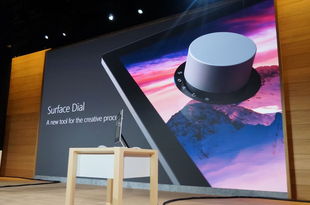 Surface Dial, ekstrautstyr til Surface Studio.