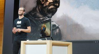 Surface Studio har verdens tynneste skjerm på en skrivebords-PC