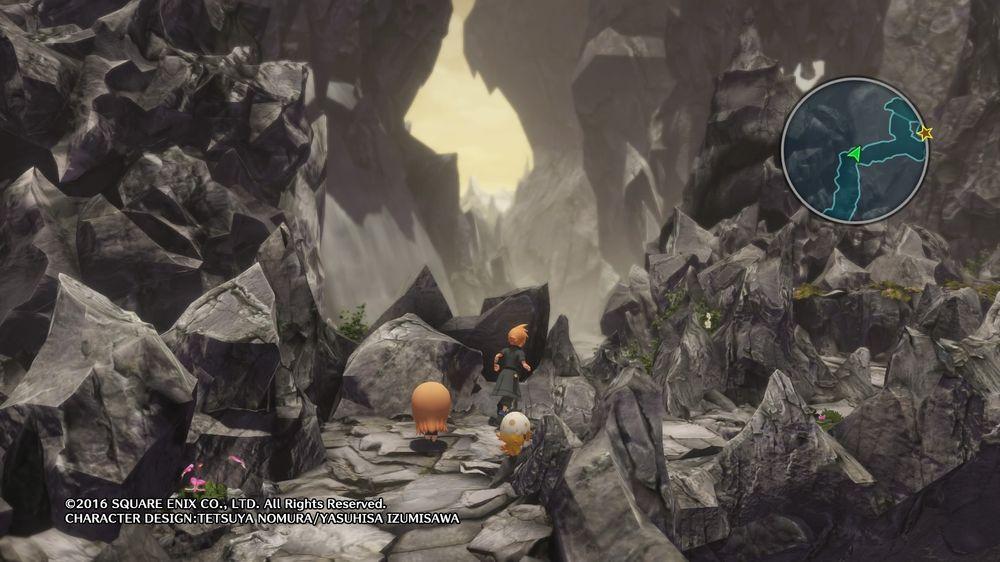 World of Final Fantasy tek deg til ei magisk verd.