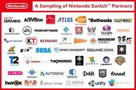 Disse er blant utviklerne og utgiverne som skal støtte Nintendo Switch-konsollen.