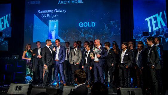 Fra fjorårets kåring da Samsung Galaxy S6 Edge+ vant for årets mobil.