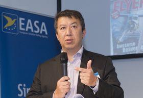 PÅ BALLEN: EASA-sjef Patrick Ky bekrefter i et brev til Wingley at de opererer innenfor reglene.