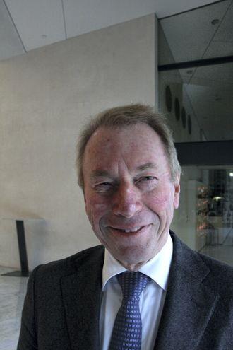 """Jens Ulltveit Moe er imponert over arbeidet som ligger bak DNV GLs rapport """"Spaceship Earth"""". Han mener kliamautfordringene er det viktigste av de 17 bærekraftsmålene."""
