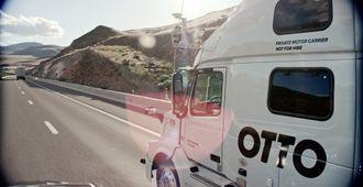 Lastebilene utstyres med en rekke sensorer som gjør dem selvkjørende.