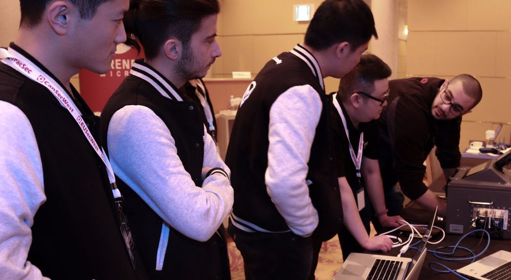 Tencent Keen Security Lab Team under Mobile Pwn2Own 2016.