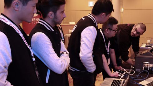Tencent Keen Security Lab Team under Mobile Pwn2Own i 2016.