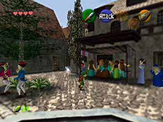 The Legend of Zelda: Ocarina of Time.
