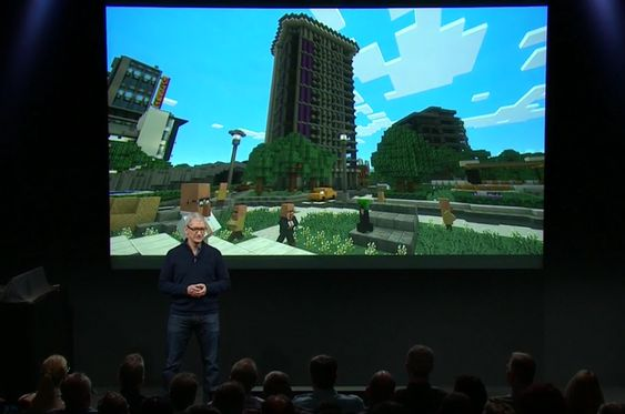 Minecraft kommer for Apple TV i løpet av året.