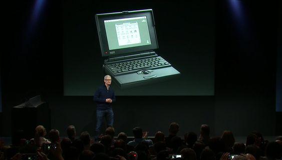 Apples første bærbare feirer 25 år i dag.