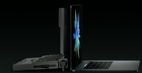 Mye har skjedd på 25 år. Den nye MacBooken er visst 6,8 millioner ganger raskere enn Powerbooken.