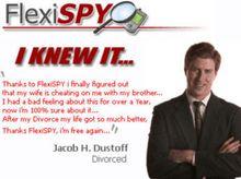 Kan overvåke det meste som skjer på mobilen: Spionprogrammet har svært lenge vært solgt og markedsført blant annet til sjalu ektemenn, og oppdateres fremdeles, selv om det ikke støtter de nyeste operativsystemene. Her fra en ti år gammel reklame.