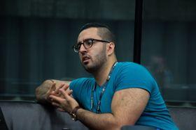 Klubbeier i Riddle, Mohammed Barzinje, er trolig fornøyd etter at klubben sikret seg plass i sluttspillet.