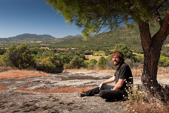 Juan Bulnes i vinmarken.