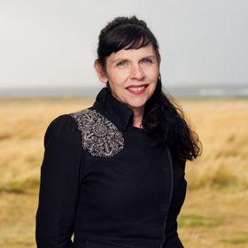 Lederen for det islandske piratpartiet Birgitta Jonsdottir var godt fornøyd etter valget.