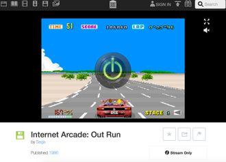 Wayback Machine lar deg også spille gamle arcadespill rett i nettleseren.