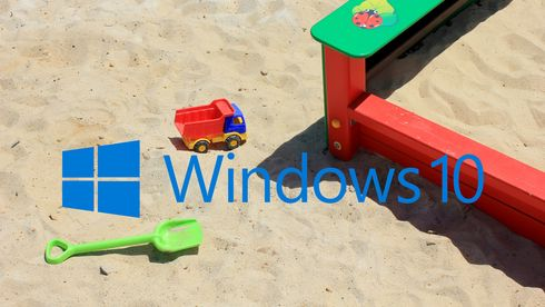 Windows 10 og sandkasse