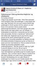 MELDINGEN TIL HØYÅS: Slik ser meldingen som Ingunn Kristine Engelsetoft sendte ut tagget med Høyås og Fylkesmannen i Oslo og Akershus. Dette er del 1!