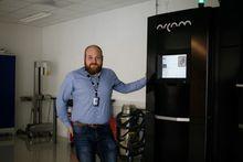 Elektronstrålekanon: Arcam A2X er den eneste printeren i Norge som bygger med «electron beam melting» (EBM).