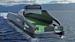Lanserte verdensnyhet: Dette skal bli verdens første autonome skip i kommersiell drift