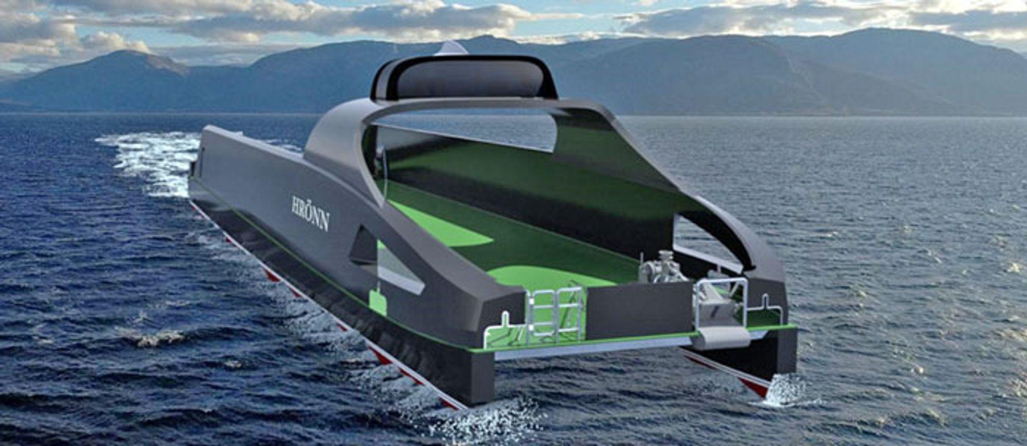 Første fullskala autonomt fartøy skal bygges ved Fjellstrand og testes i Trondheimsfjorden.