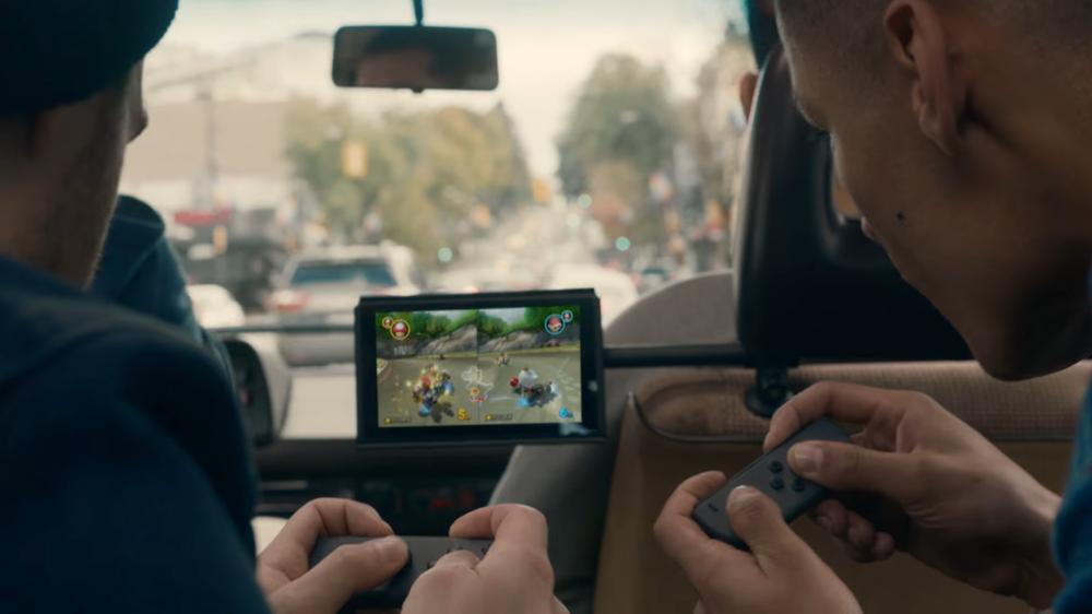 Switch markedsfører foreløpig som en ekstra konsoll for unge voksne.