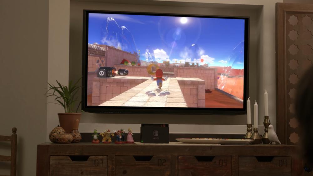 Er det et nytt Mario-spill à la Super Mario Sunshine vi kan skimte?