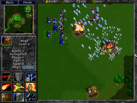 Warcraft II: Tides of Darkness.