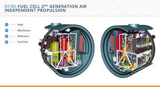 DCNS' andre generasjon AIP-teknologi.