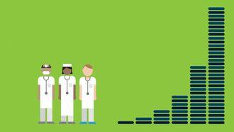 Voldsom datavekst: I 2020 antas det at mengden medisinske data vil doble seg hver 73 dag. Skal vi få glede av dette må legene ha maskinhjelp.