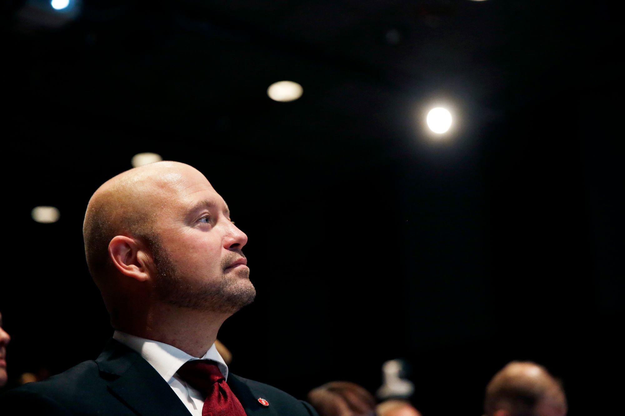 Justis- og beredskapsminister Anders Anundsen sier at politiet er i gang med å ruste opp sine IT-systemer.