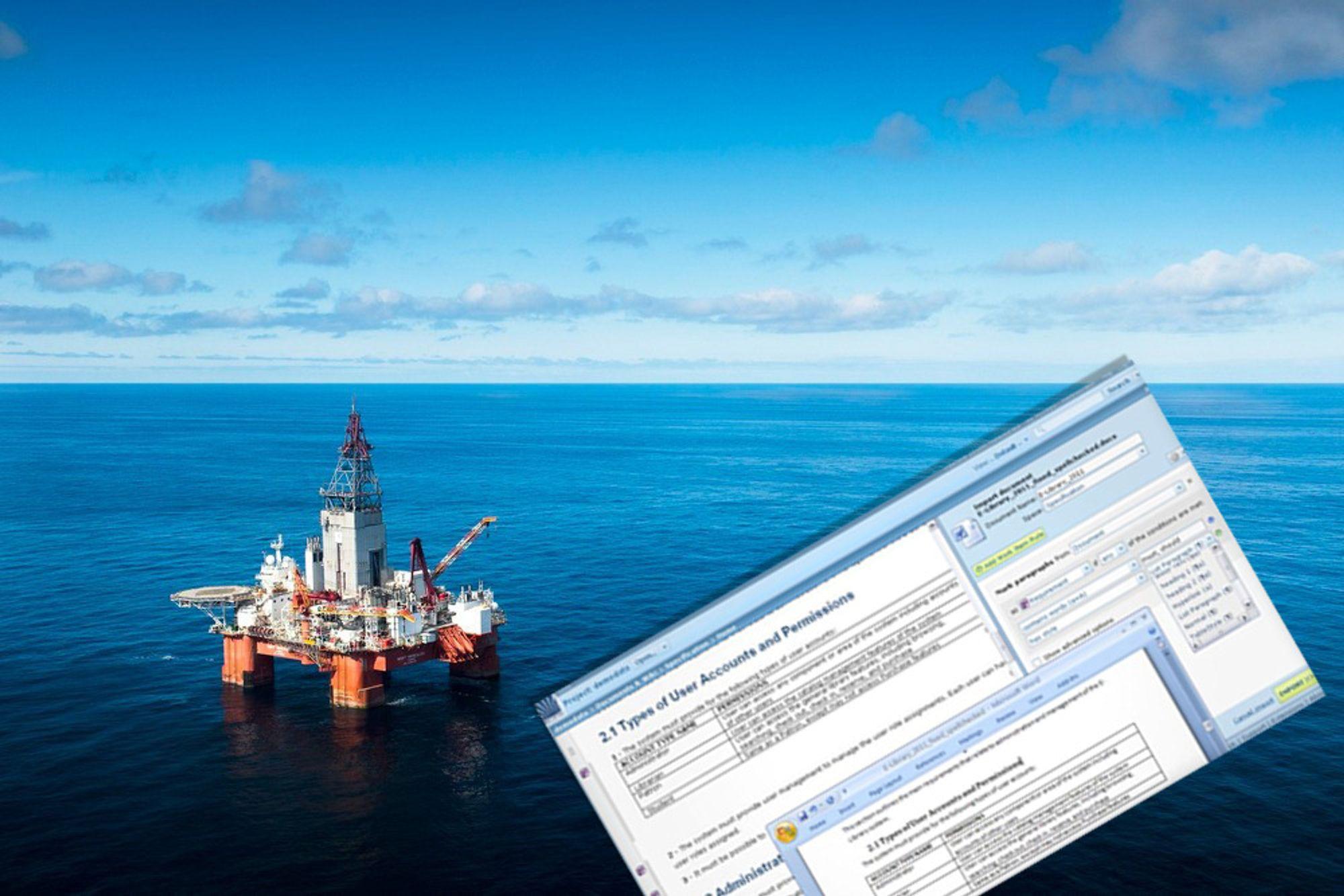 – Gammel vane og for mye penger har gjort at oljebransjen henger etter