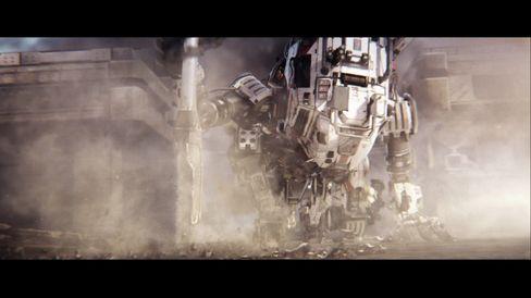 Robotene er svære og kule.