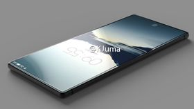 S8 kan få heldekkende glass, som den nye modellen fra Meizu visstnok skal få. Dette er et lekket bilde av Meizu-modellen.