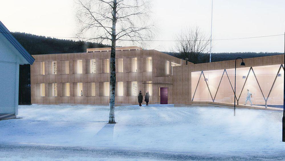 Om Statsbygg lykkes med planene til nye Campus Evenstad, kan bygget bli verdens beste klimabygg.