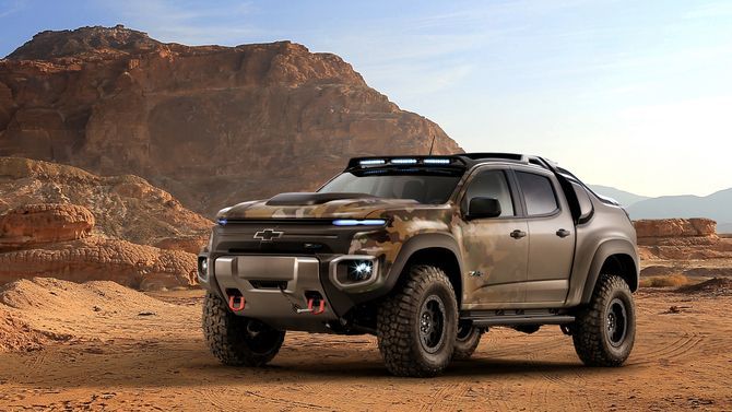 Det er lav «treehugger»-faktor når Chevrolet designer hydrogenbil.