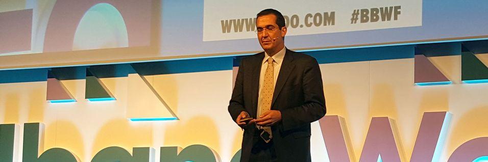 Direktør for fastnettdivisjonen i Nokia, Federico Guillén, snakket om hvordan det er nødvendig å benytte alle tilgjengelige teknologier for å få flere av verdens befolkning på nett, under Broadband World Forum i London i oktober.
