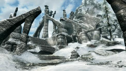 Med sin vinterlige stemning og storslått musikk, er Skyrim et perfekt spill for en konsert som denne.