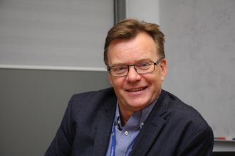 Knut Eilert Røsvik, direktør for propulsjon (fremdriftssystemer) i Rolls-Royce Marine AS.