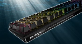 Stilrent tastatur for deg som liker regnbuer