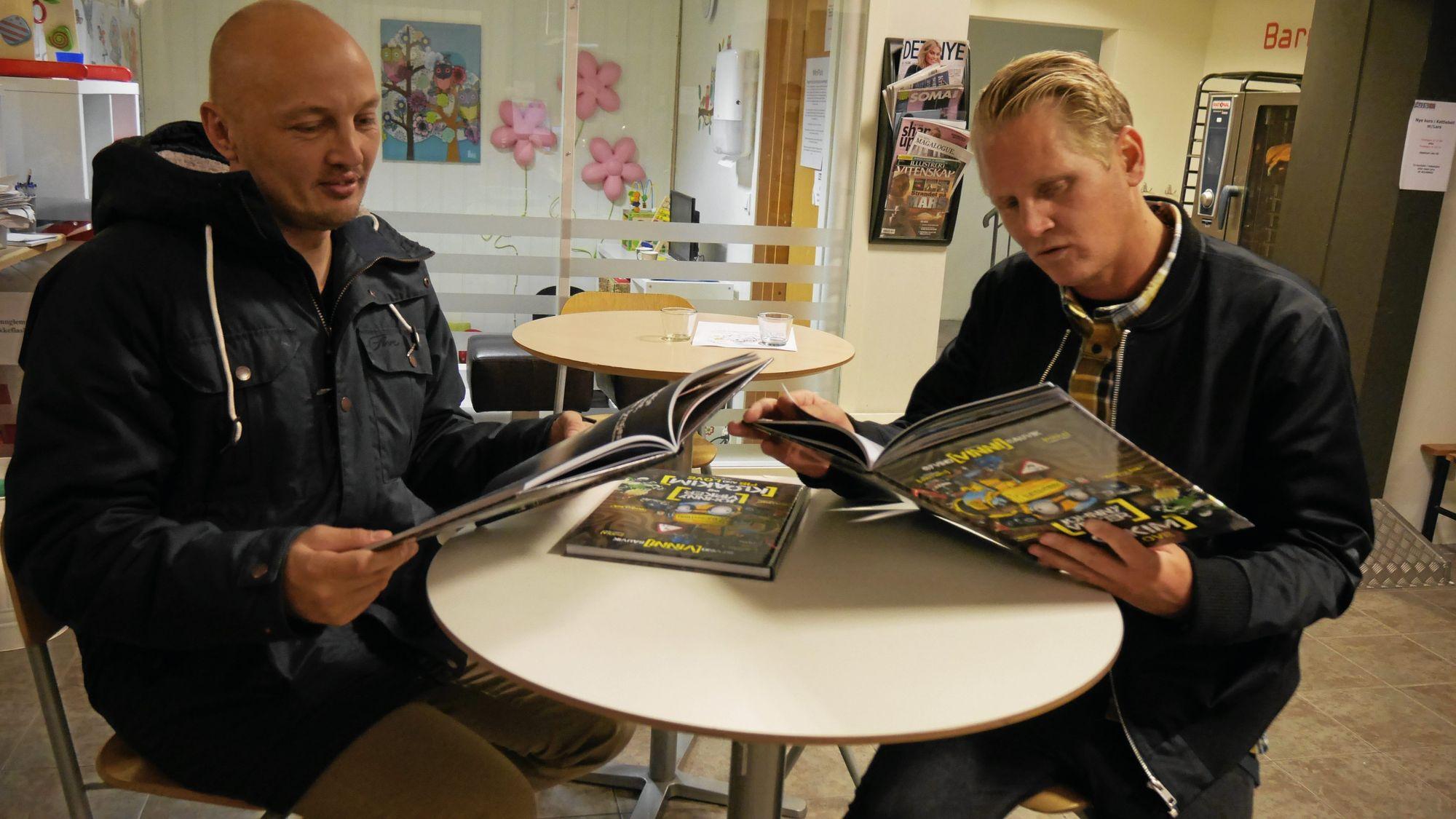 "Øyvind ""Vinni"" Sauvik og Pekka Lundefaret lanserer ny bok om Johnny Virker."