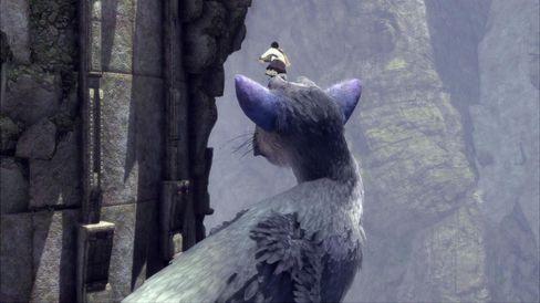 Samspillet mellom gutt og dyr er kjernen i The Last Guardian.