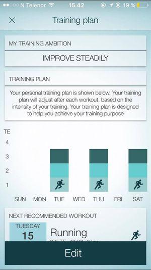 Om du trenger litt hjelp til å komme i gang med treningen, har Jabra Sport-appen blant annet ulike treningsprogrammer du kan sette i gang.